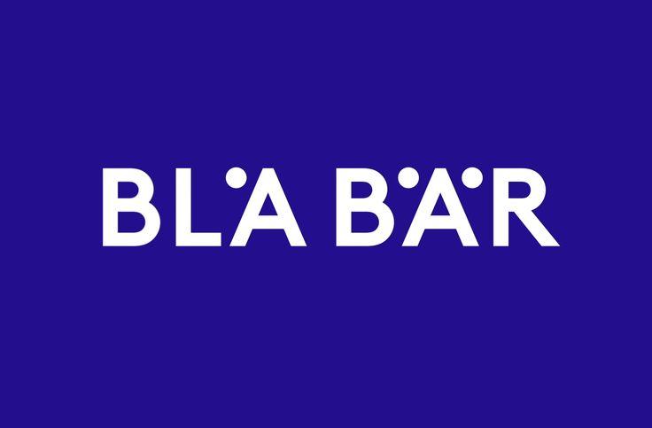 Bla Bär Shop Identity by BVD  http://mindsparklemag.com/design/graphic/bla-bar-identity/