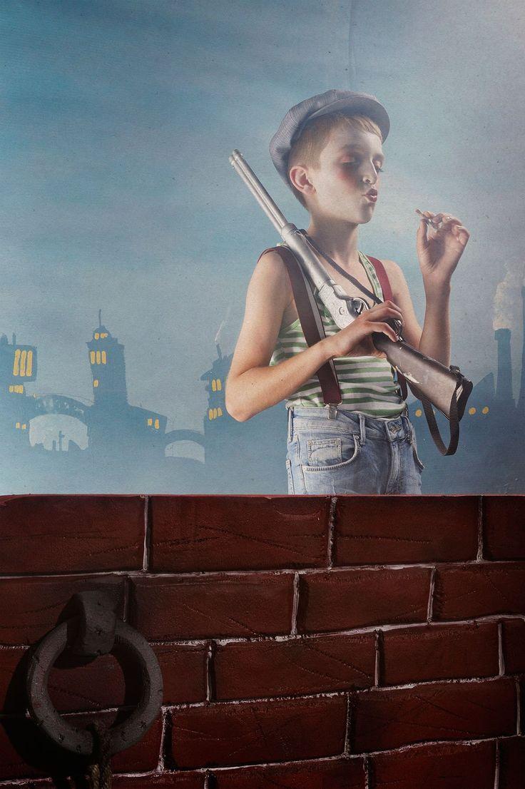 Le Turk, Les Enfants Perdus III, from 'Retour en Terres Nulle-Part'series.