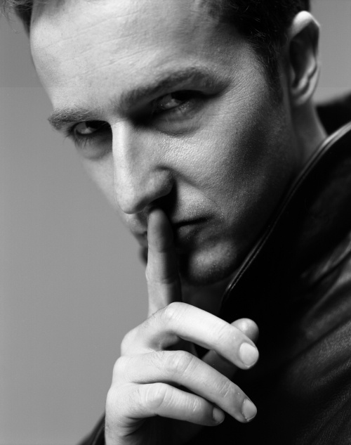 Edward Norton. I think I liked the illusionist best.  And fight club, actually I think of him as Jack every time.