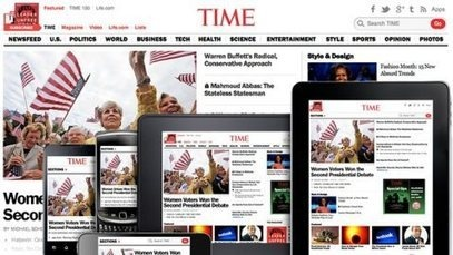 Time Moves to Responsive Design | Adweek