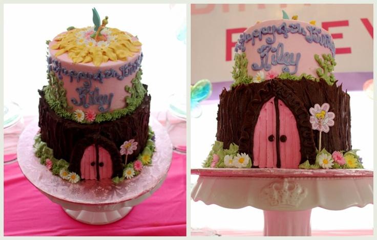 Fairy birthday cake: Birthday Parties, 6Th Birthday, Cakes Yum, Beautiful Cakes, Evelyn Birthday, Fairy Birthday Cake, Fairies Birthday Cakes, Aries Birthday, Birthday Ideas