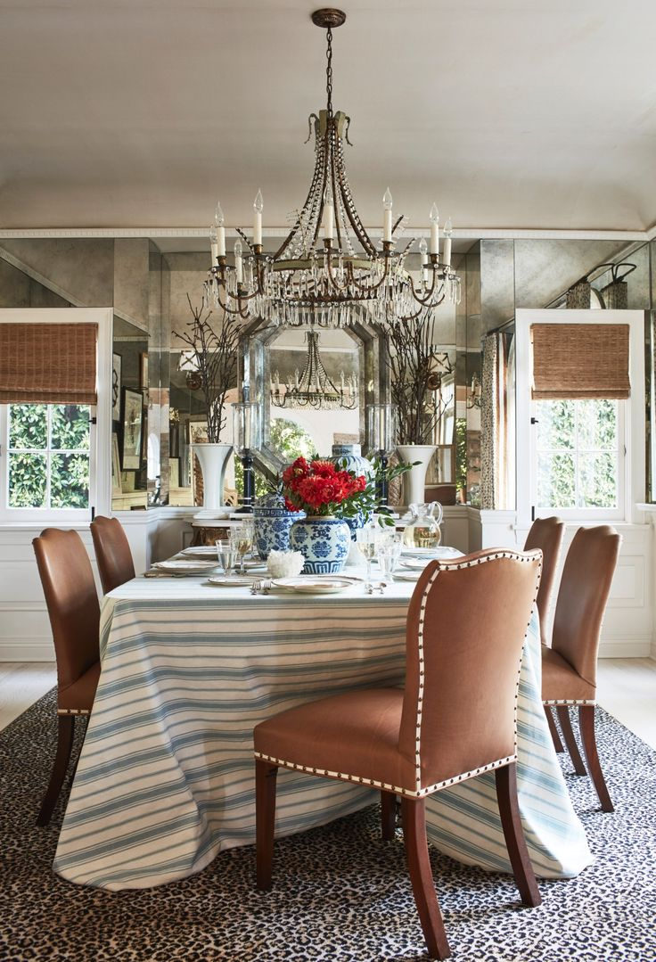 17 best images about dining rooms on pinterest beautiful for Mark d sikes dining room