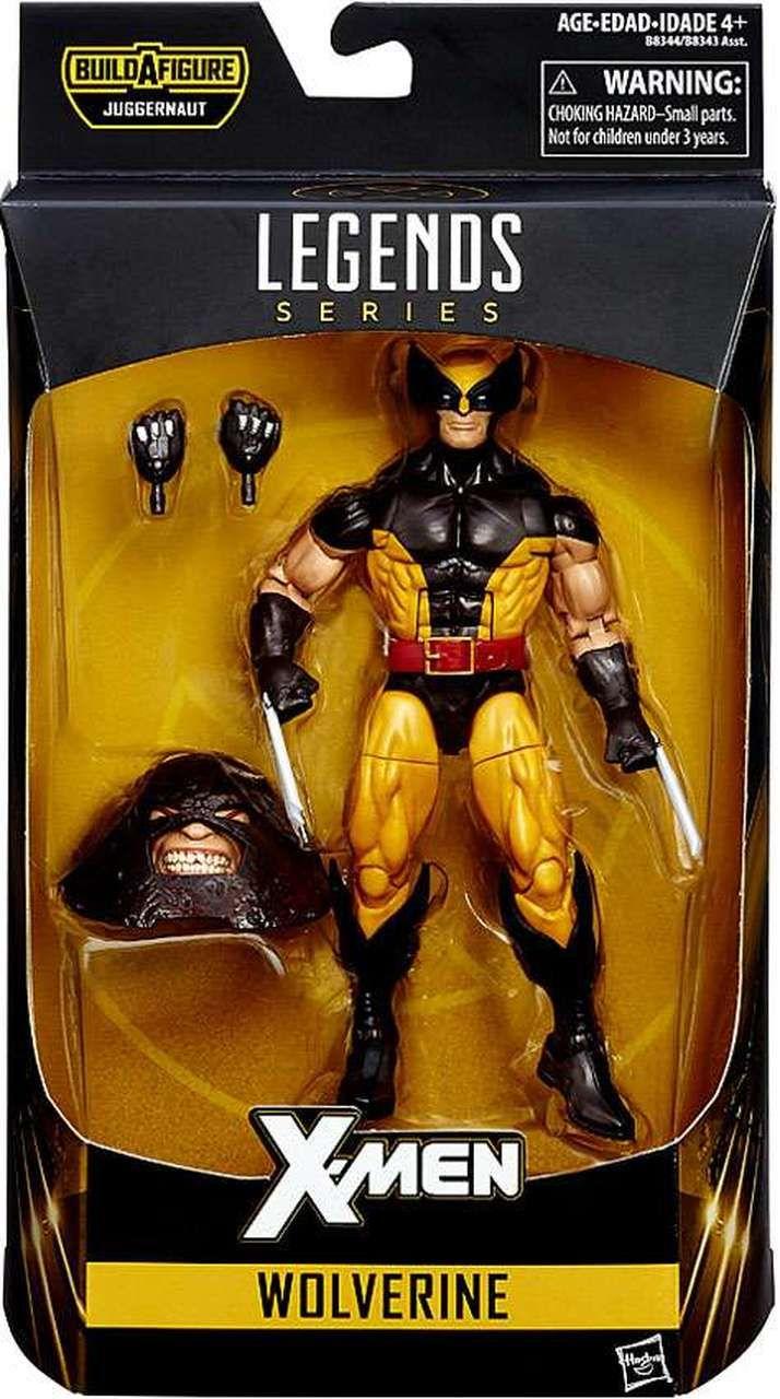 X Men Marvel Legends Juggernaut Series Wolverine Action Figure Brown Costume Marvel Legends Marvel Legends Action Figures Marvel Legends Figures
