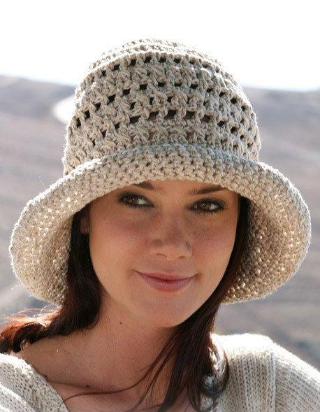 Sun hat womens Summer hat Linen hat Cotton hat Bucket hat