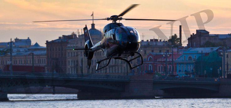 Аренда вертолёта в Сакт-Петербурге