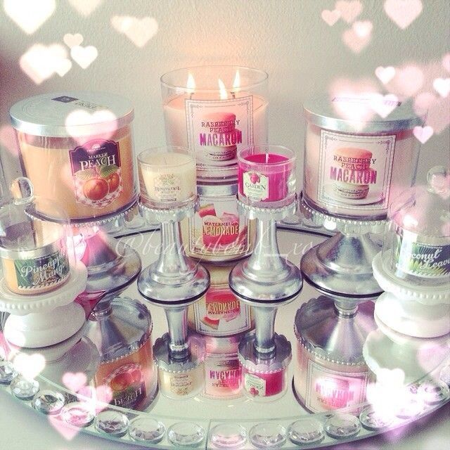 Bath  body work candles  candle holders