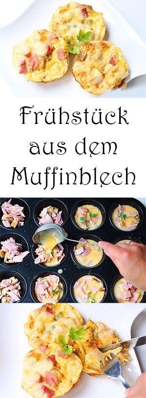 Muffin Frühstück + Video – Mama Kreativ   – Frühstück muffin