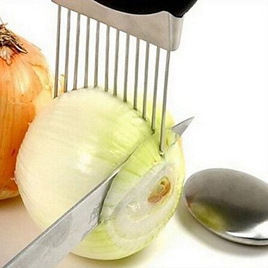 Onion+Holder+Slicer+Vegetable+Tools+Tomato+Cutter+Meat+Hamstring+Fork+Stainless+Steel+Kitchen+Gadgets+–+USD+$+6.99