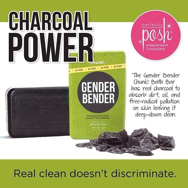 Perfectly Posh. Gender Bender CHUNK bar. D-tox www.perfectlyposh.com/sarahposhoregon