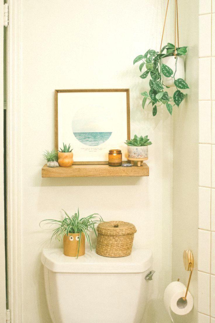 Badezimmer Reveal Vor Nach Diyhomedecor In 2020 Boho Bathroom Beach Bathroom Design Vintage Bathroom Decor