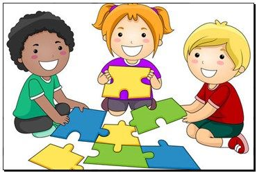 Print of Puzzle Kids k4605518 - posters, canvas prints, wall decor, giclee prints, wall murals - k4605518.jpg