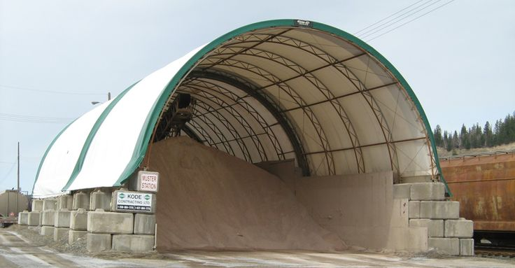 Provide salt for de-icing. Meets all Ministry of Transportation coarse salt specifications and gradation requirements.