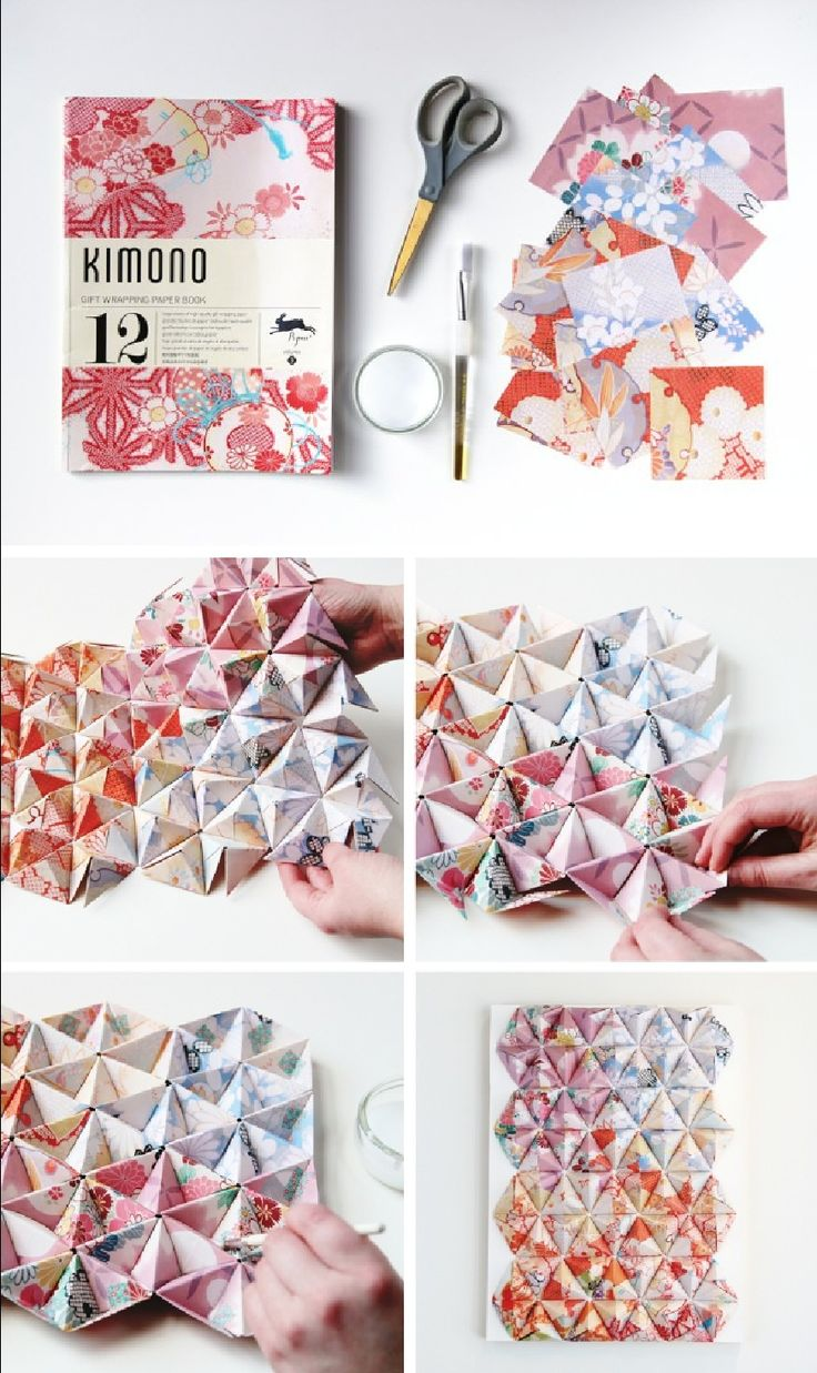 Best 25 origami wall art ideas on pinterest for Diy paper wall art