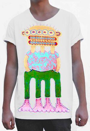 T-shirt från theTshit - HAPPY CLAUSTRO