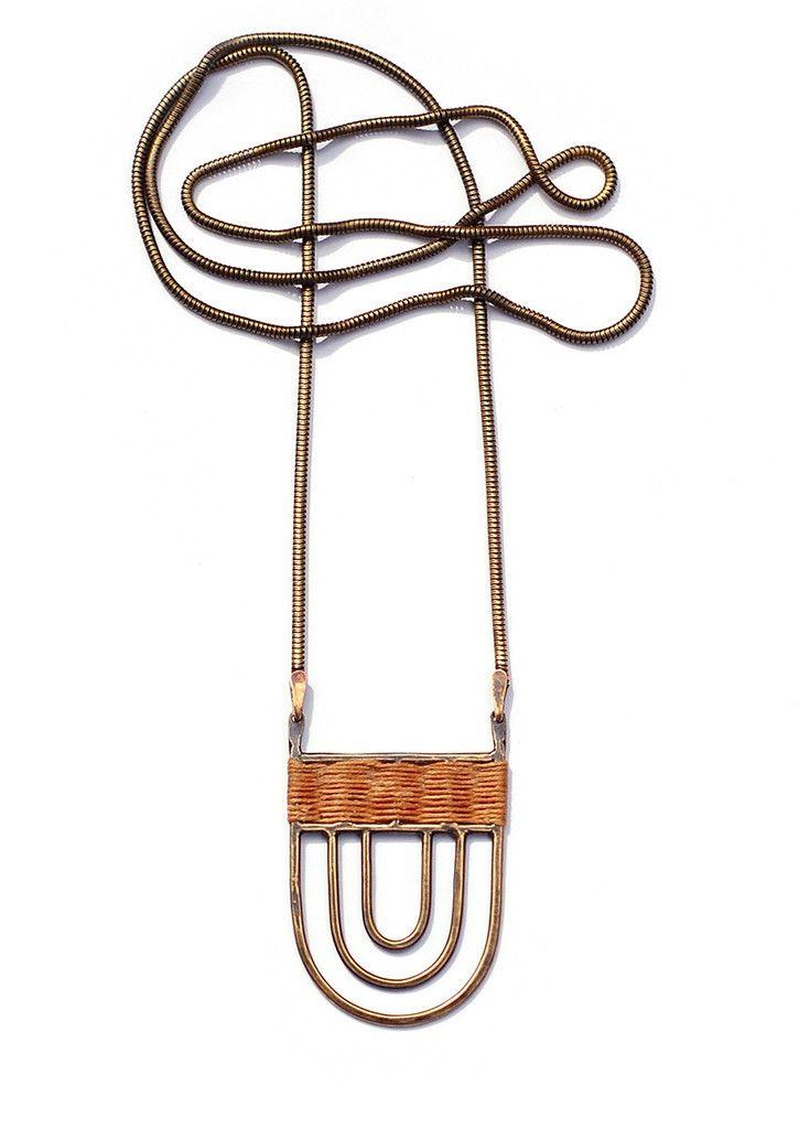 Polis necklace  by Tiro Tiro- $140