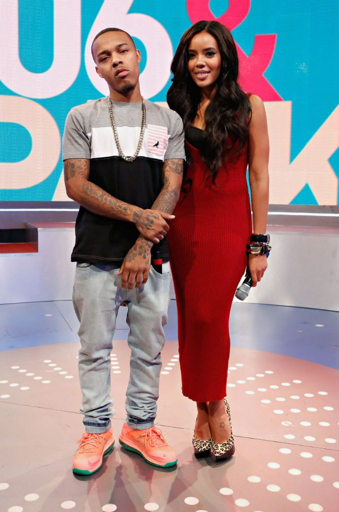 bow wow wearing nike lebron x low bright mango whats on