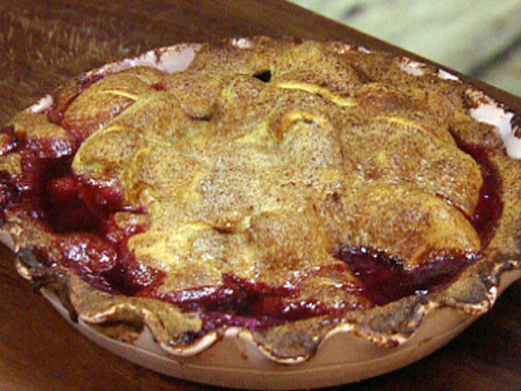 Blackberry and Apple Pie recipe from Jamie Oliver via Food Network