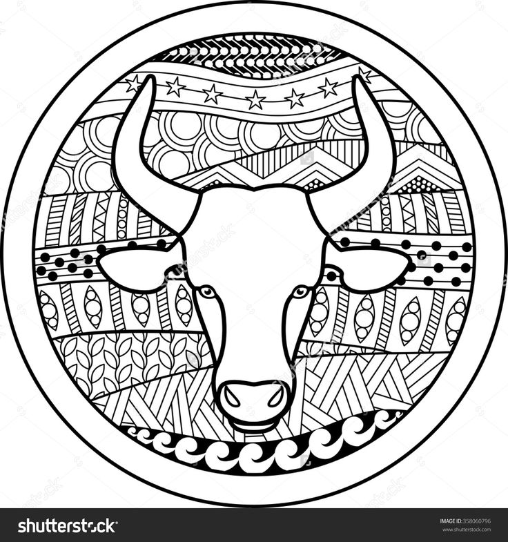 astrological signs coloring pages - photo#37