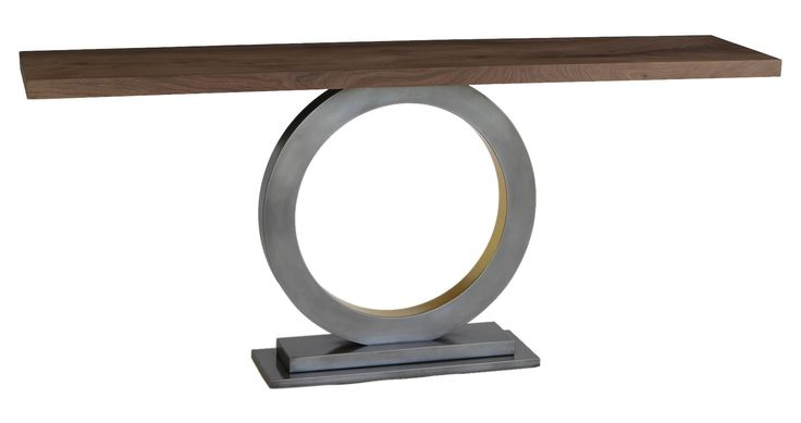 Buy Orbit by Harris Rubin by Dennis Miller Associates - Made-to-Order designer Furniture from Dering Hall's collection of Contemporary Mid-Century / Modern Transitional Console Tables.