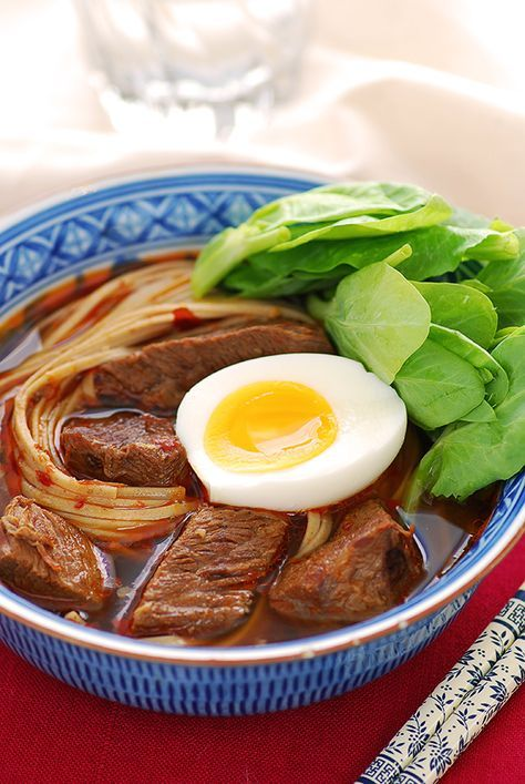 Sichuan Braised Beef Noodle Soup