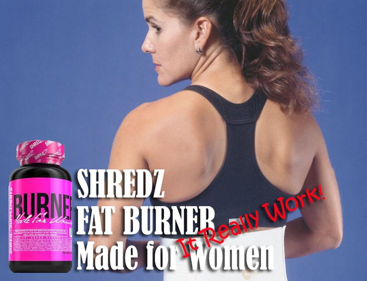 Shredz Review : Fat Burner Made for Women, It Really Work!