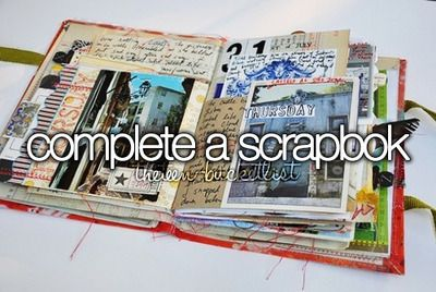 I am going to make a scrapbook, but I need some ideas for the theme..