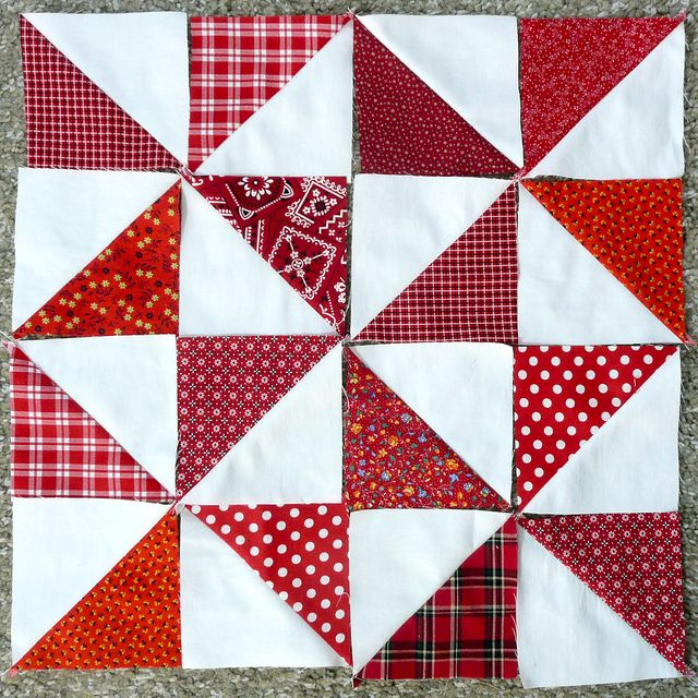 Quilting Templates Square : 275 best TRIANGLE & HALF SQUARE BLOCK QUILTS images on Pinterest Patterns, Tutorials and Beautiful