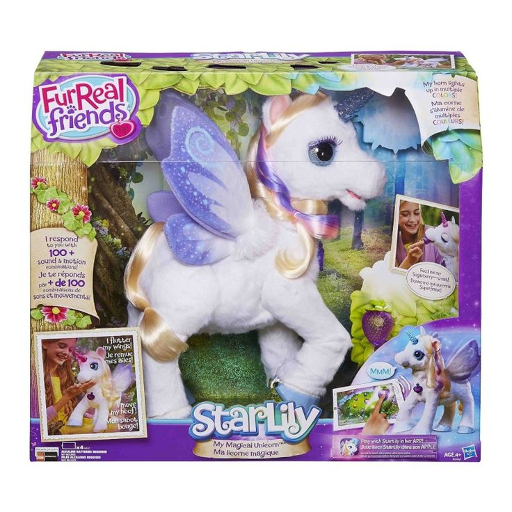 Juguete FURREAL STARLILY UNICORNIO MAGICO de Hasbro Precio 121,97€ en IguMagazine #juguetesbaratos