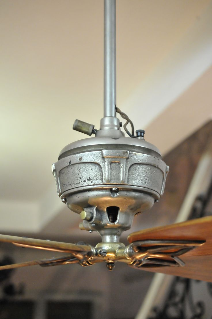 Old Ceiling Fans : Images about antique electric fan on pinterest