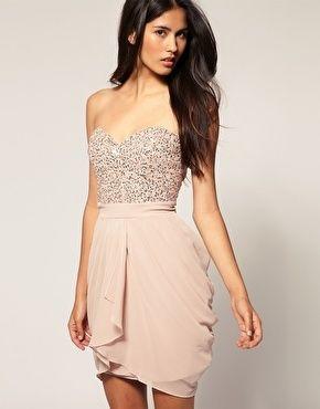 Nude Coloured Dresses