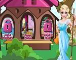 Em Frozen Elsa de Castigo, nossa amiga Elsa aprontou muito hoje e ficou de castigo. Ela vai ter que limpar toda a casa sozinha. Ajude-a nessa tarefa para que ela termine logo. Limpe a casa, os quartos e cuide dos cavalos. Faça um lindo vestido e depois faça um delicioso bolo para todos. Divirta-se com Elsa!