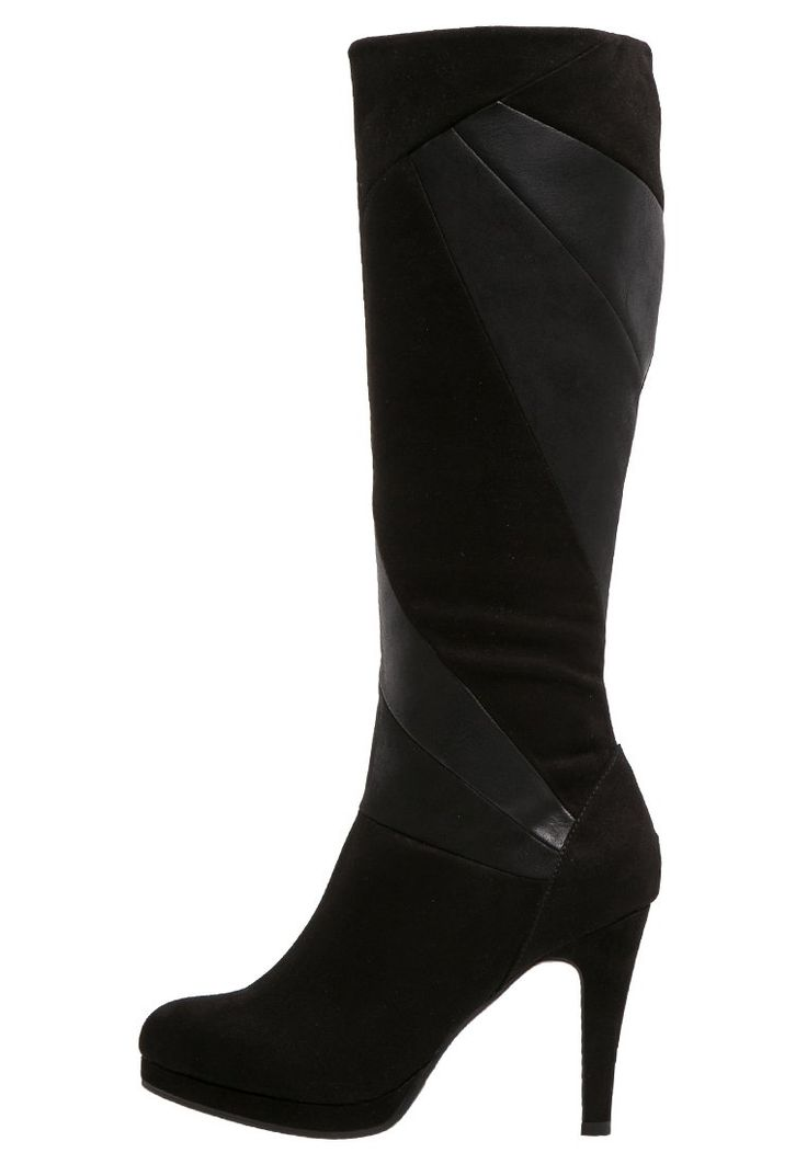 Anna Field Plateaustiefel black Schuhe bei Zalando.de | Obermaterial: Lederimitat/ Textil, Innenmaterial: Textil, Sohle: Kunststoff, Decksohle: Lederimitat | Schuhe jetzt versandkostenfrei bei Zalando.de bestellen!