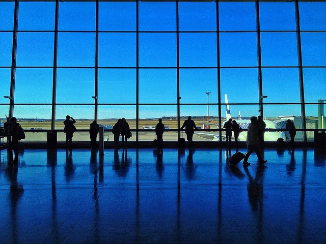 @HelsinkiAirport on a beautiful spring day in April. #Finland by Stephen Sutton, via Flickr