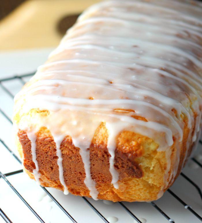 Limoncello Glazed Limoncello Cake Loaf