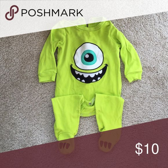 Mike Sleeper or Costume from Monsters Inc Sleeper. Worn for Halloween so only worn a couple of times. Definitely appropriate for ply and sleep too! EUC. Disney One Pieces Footies