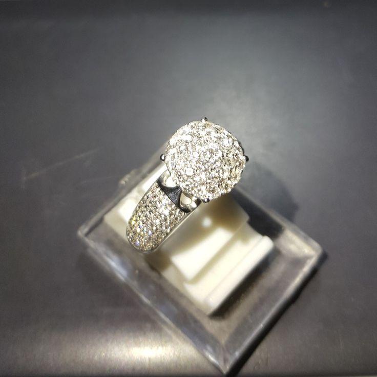 Cincin emas berlian Mode Bulat Minimalis. Hrg cuci gudang. Toko Perhiasan Emas Berlian-MJ,Jakarta +628118455779/DC9E309C Cp.Tri. #emas#berlian#investasi#gold#fashion