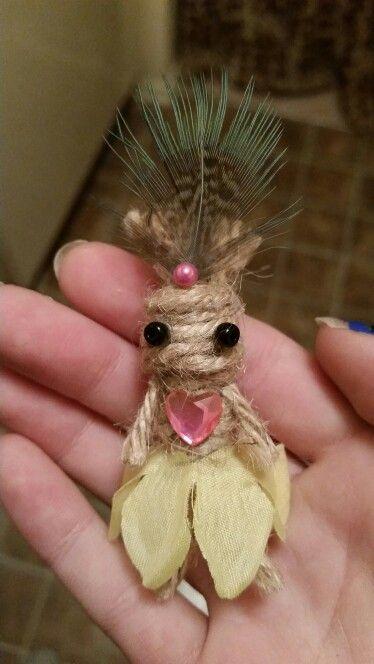 Handmade voodoo baby doll ☆♡