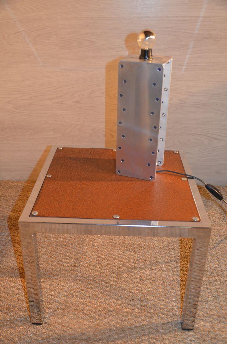 Table basse industrielle table basse indus table basse - Table basse 70 s ...
