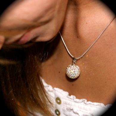 Large  Glitter Ball  - #poshprezzi