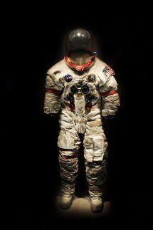 Une combinaison d'astronaute au Kennedy Space Center en Floride