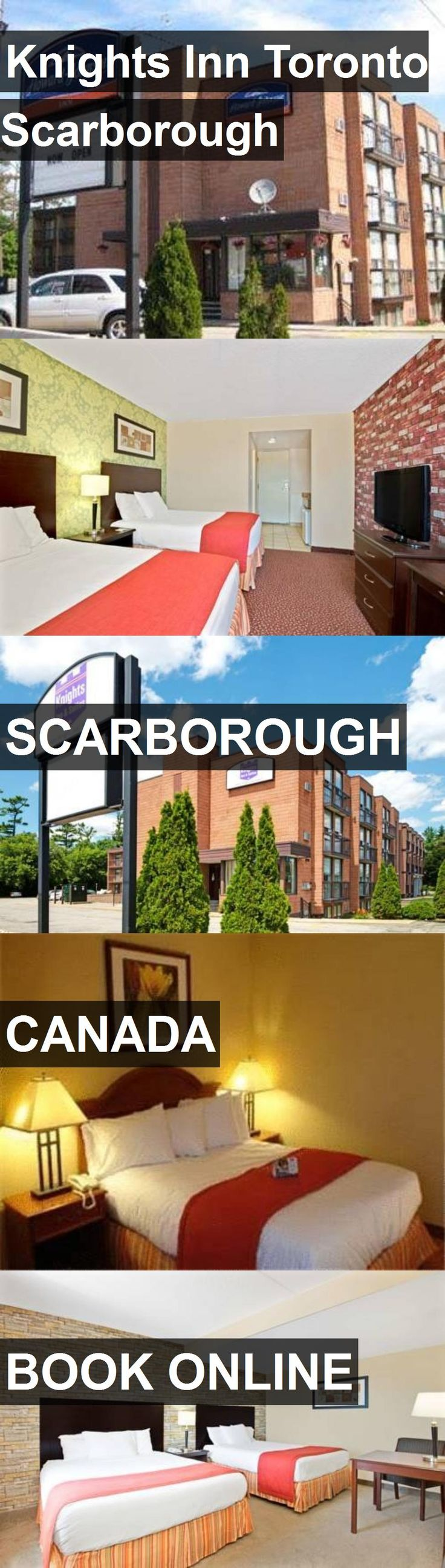 Hotel Knights Inn Toronto Scarborough in Scarborough, Canada. For more information, photos, reviews and best prices please follow the link. #Canada #Scarborough #travel #vacation #hotel