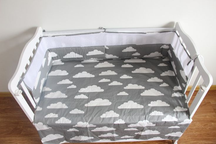 Breathable Mesh Crib Bumpers Baby Bedding Crib Liner Baby Cot Bed Around Protector Baby Bed Bumper