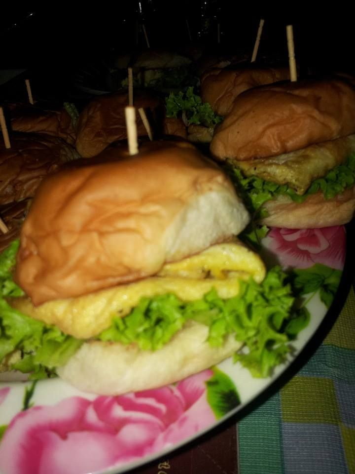 mini burger: