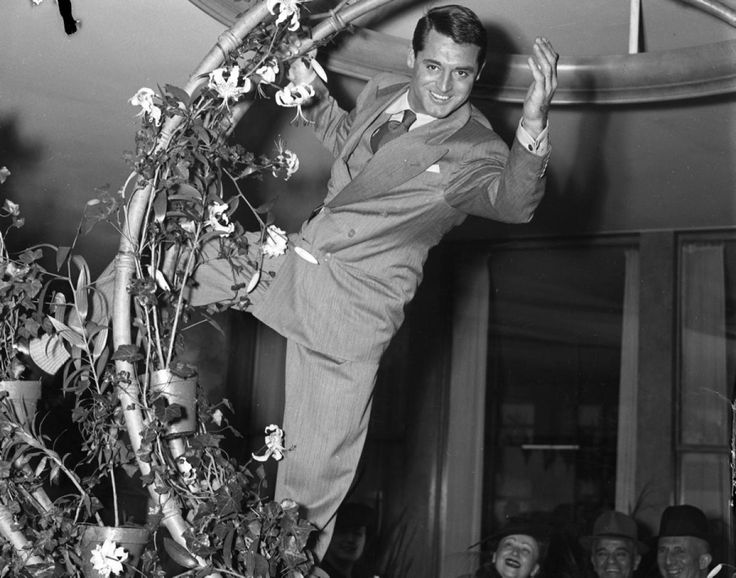 Cary Grant on Thanksgiving 1938