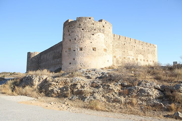 The fortress of Ancient Aptera, Crete