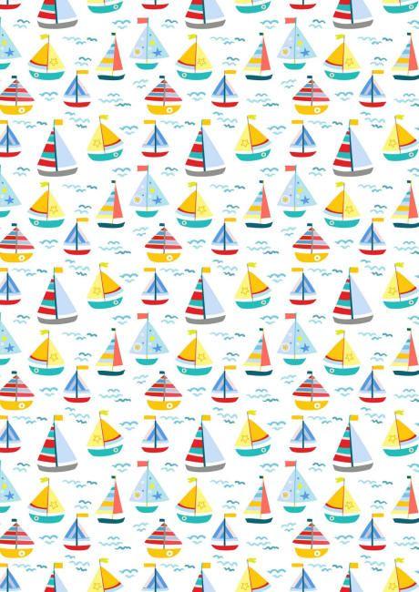 Sailing scrapbook paper - Lien PDF au dessus de l'image