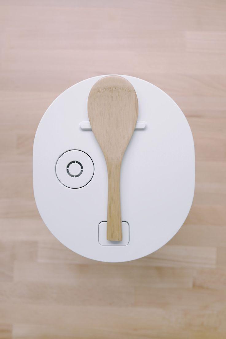 Muji Rice Cooker by Naoto Fukasawa, anyone who's used a rice cooker should appreciate this design