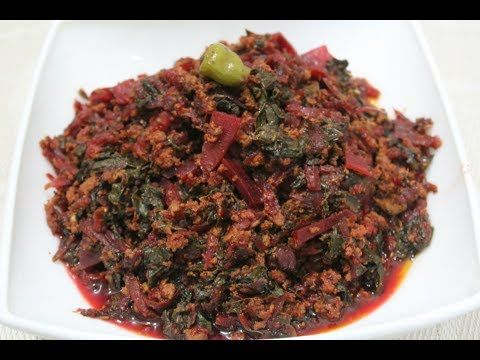 CHUQANDER QEEMA  || BEET ROOT AND MINCE MEAT