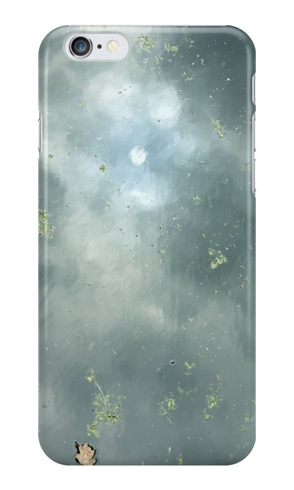 Reflection of the sky in water. Abstract skin/case for iPhone, Sumsung Galaxy