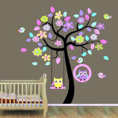 Παίζουμε μαζί: Διακοσμήστε το παιδικό δωμάτιο με αυτοκόλλητα τοίχου!
